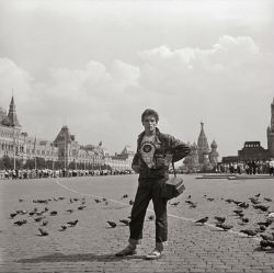 1957 : Un photoreporter au Festival de Moscou